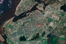 Северодвинск на карте