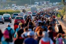 Беженцы из Сирии ринулись в Европу