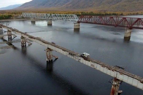 Мост над р.Витим