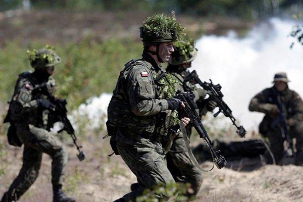 Военные учения польских войск