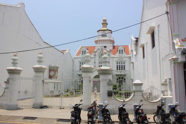 Колониальная архитектура в Малакке.