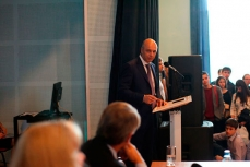 Министр финансов Антон Силуанов прочитал лекцию студентам Финансового университета.