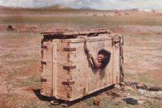 Обреченная монгольская женщина
