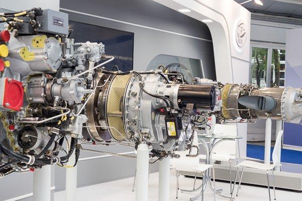 Авиационные двигатели на «Гидроавиасалоне-2018»