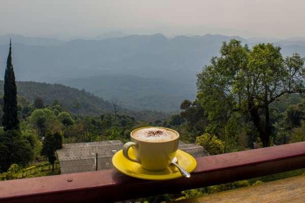Тайский кофе.