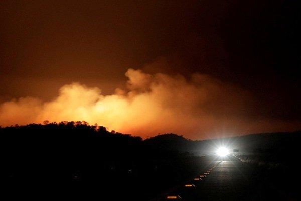 Лесной пожар, Барселона