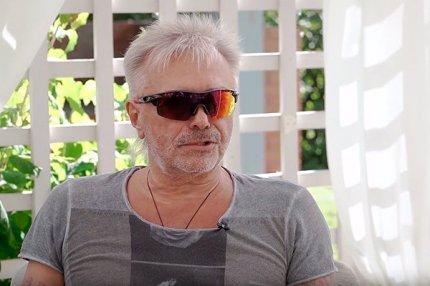 Рок-музыкант Константин Кинчев