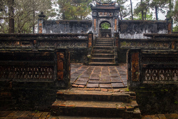 Гробница императора Тхиеу Чи (Lăng Thiệu Trị). Вьетнам.