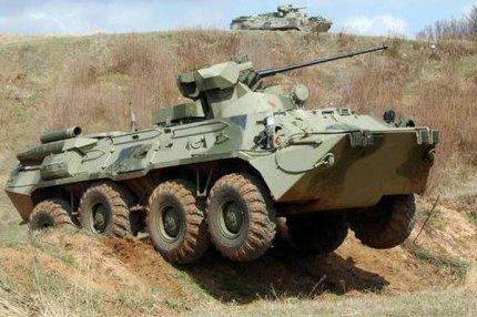 БТР армии Украины.