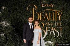 """Дэн Стивенс и Эмма Уотсон на представлении фильма """"Красавица и чудовище""""."""