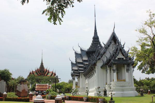 Парк Древний город (Mueang Boran). Бангкок, Таиланд.