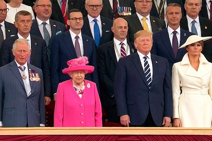 Государственный визит в Великобританию Президента Соединенных Штатов Америки Дональда Трампа