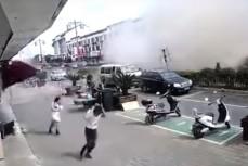 Взрыв газа в Китае