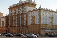 Здание посольства США в Москве.