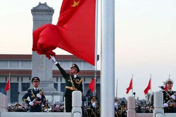 Китайские солдаты в Пекине