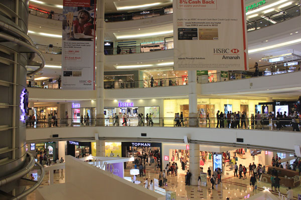 Торговый центр в башнях Петронас. Малайзия.