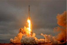 Space X, приземление.