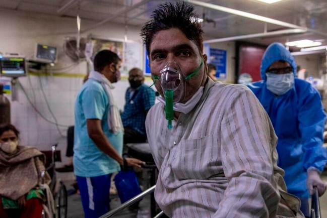 В Индии не осталось кислорода для COVID-больных