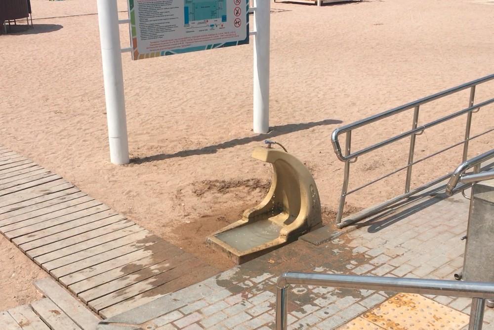 Ноги в Геленджике отдыхающим пресной водой помыть можно, а пить местным жителям нельзя