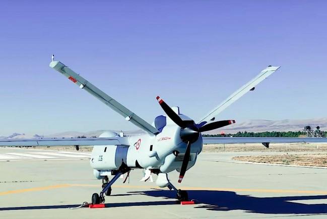 Турецкий боевой беспилотный аппарат