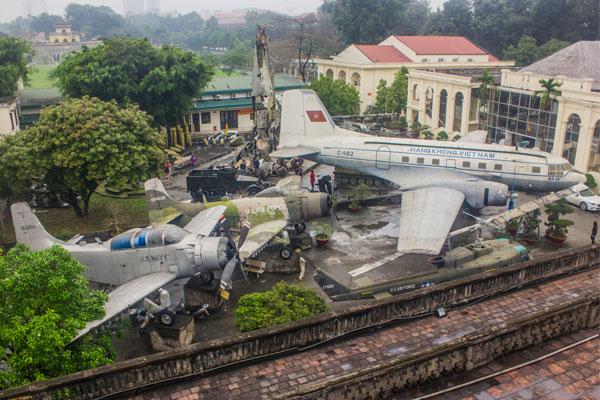 Музей вьетнамской армии в Ханое.