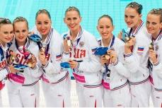 Российские спортсмены выиграли золото.