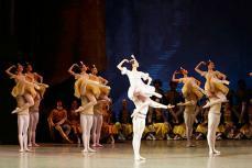 Гастроли Мариинского театра в США.