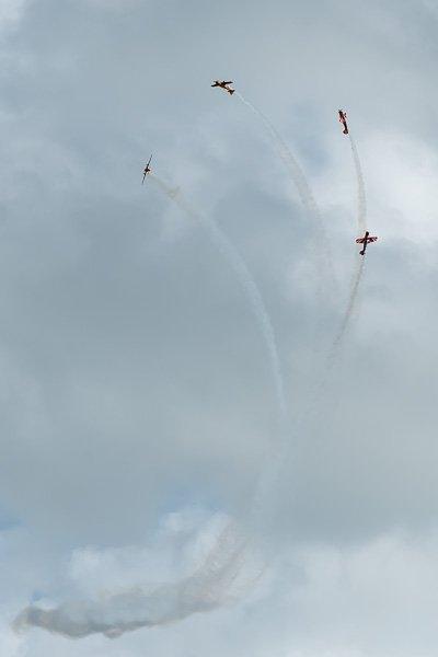 Группа «Первый полёт», фигуры высшего пилотажа