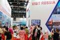 Cтенд России на выставке World Travel Market, Лондон, 2 ноября 2016.