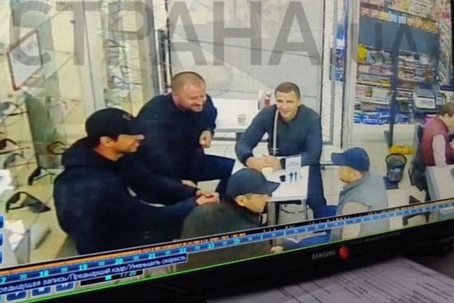 Встреча бандитов в Харькове перед перестрелкой