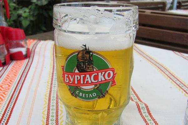 Болгарское светлое пиво.