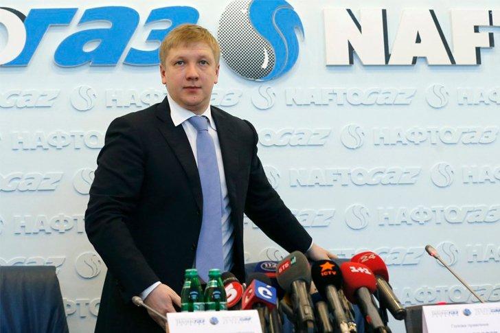 Глава правления Нафтогаза Андрей Коболев