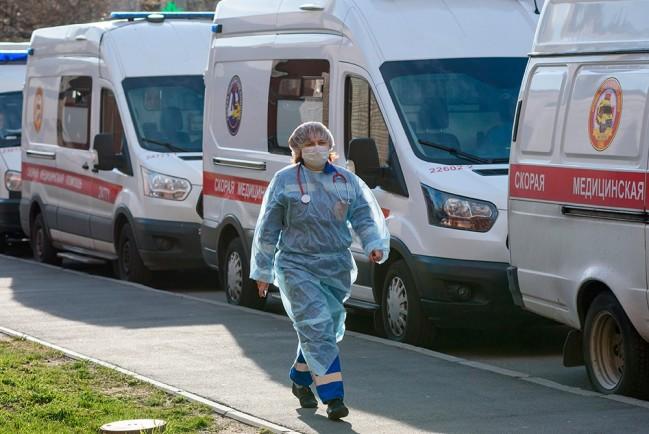 Россия обошла Китай по числу случаев заражения COVID-19