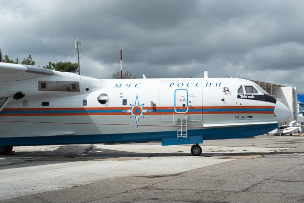 Самолёт-амфибия Бе-200 ЧС