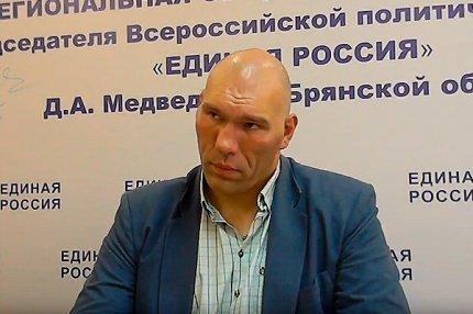 Депутат Госдумы Николай Валуев
