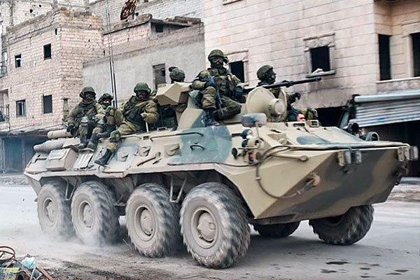 Российские добровольцы в Сирии