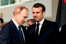 Франция начала расследование утечки разговора Путина и Макрона