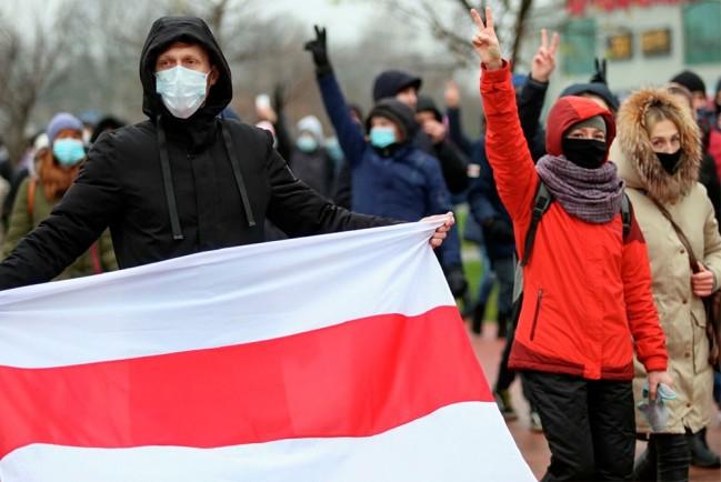 В Минске проходит «Марш против фашизма»