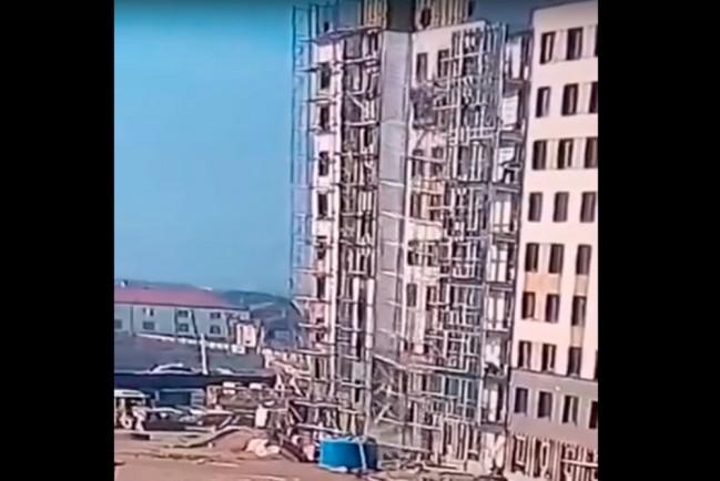 Падение дагестанских строителей