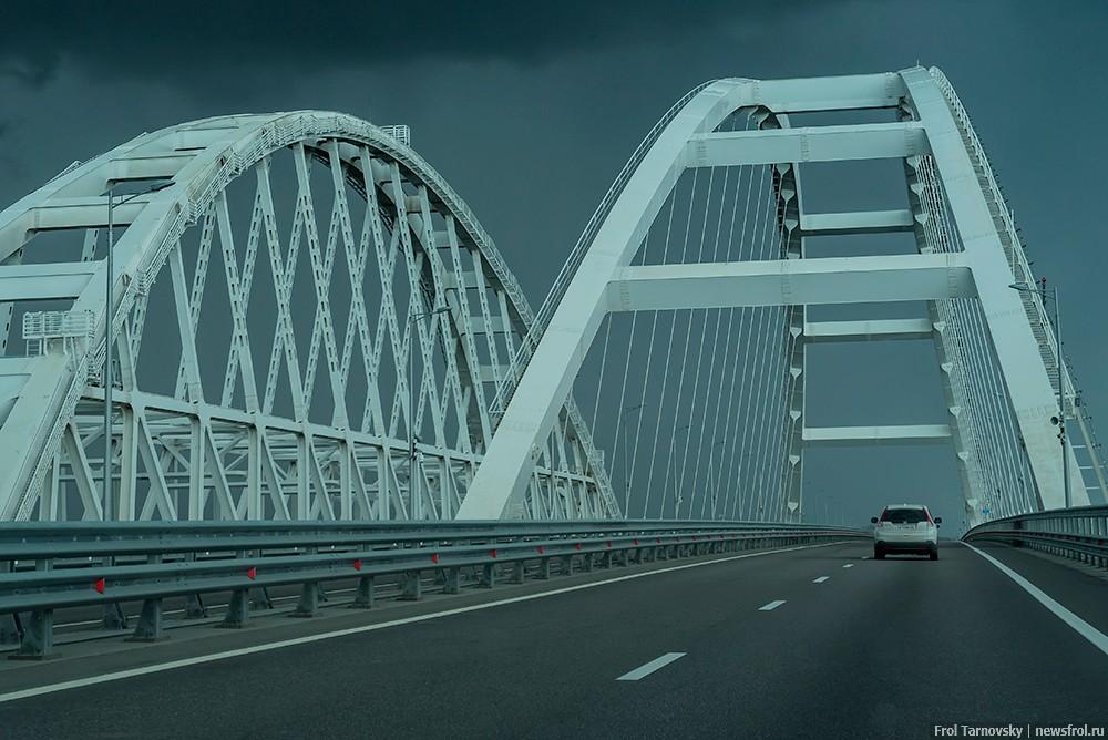 Кульминация Крымского моста - арки