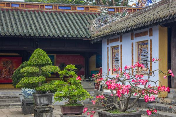 Внутренний двор. Императорская цитадель, г. Хюэ. Вьетнам.