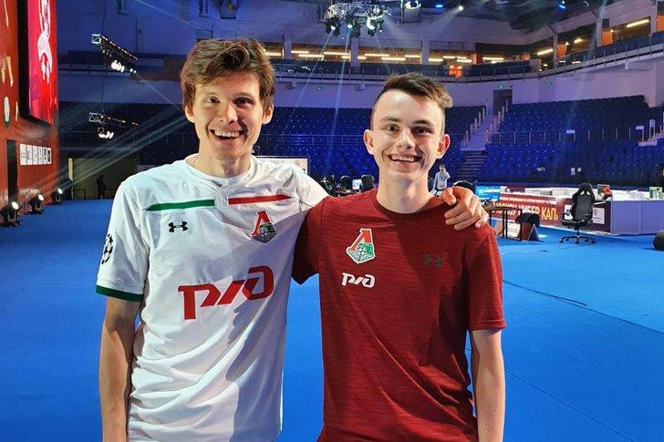 Киберкоманда футбольного клуба «Локомотив» Москва