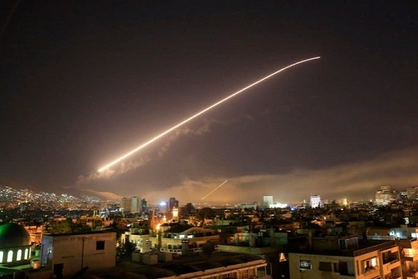 Ракетная атака по Сирии, 14 апреля 2018 год