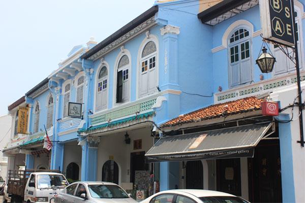 Колониальная архитектура в Малакке. Малайзия.
