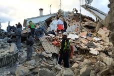 После землетрясения в Италии.
