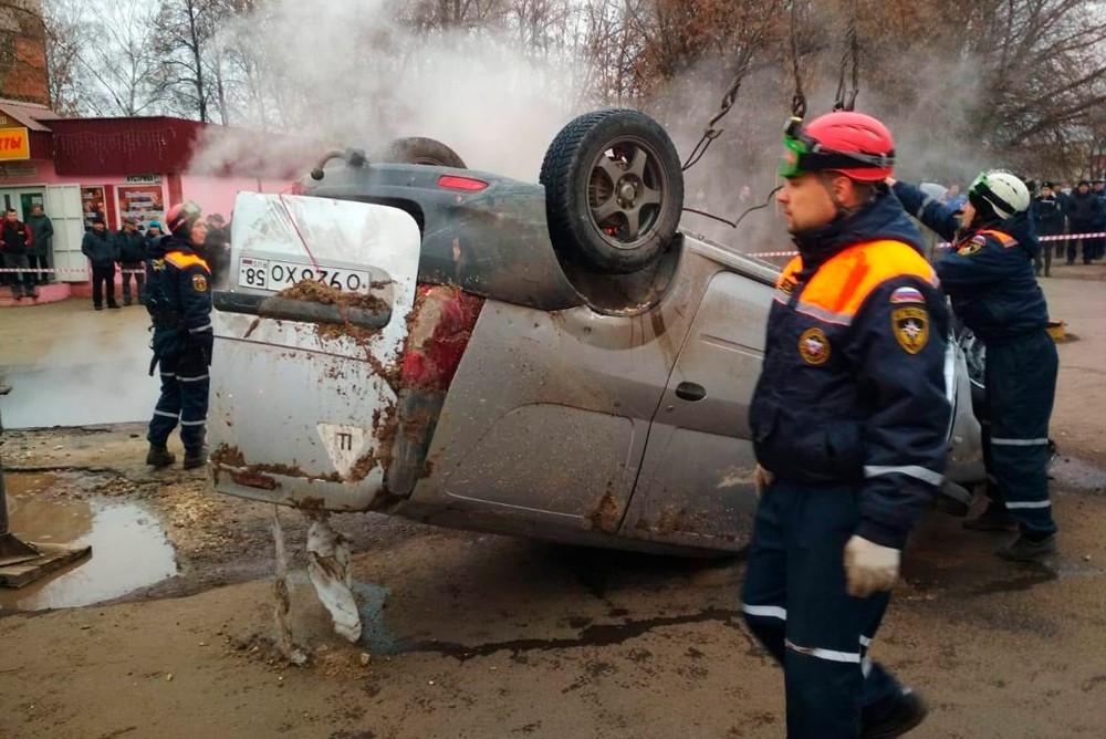 В этом автомобиле в Пензе заживо сварились двое мужчин