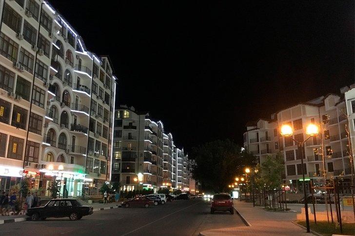 Улица Крымская в Геленджике