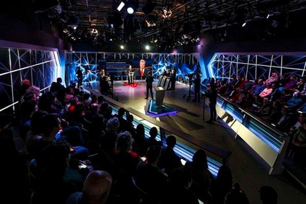 Выступление Петра Порошенко на телеканале ICTV