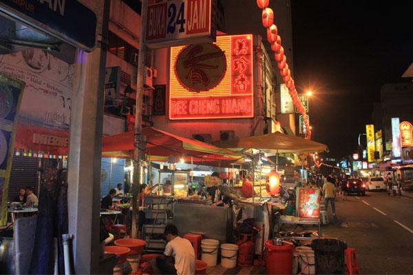 Чайнатаун в Куала-Лумпуре. Малайзия.