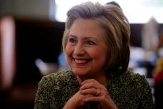 Претендент на пост президента США Хиллари Клинтон.